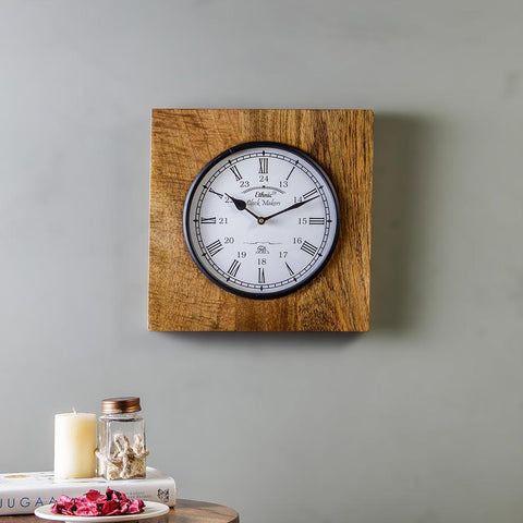 Winwood Vintage 11 Square Wall Clock