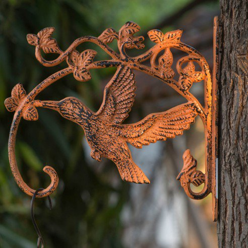 FABULIV Hornbill Wall Brackets (Distress Orange)