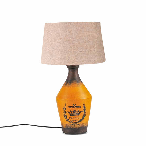 Adolfo Vintage Yellow Table Lamp