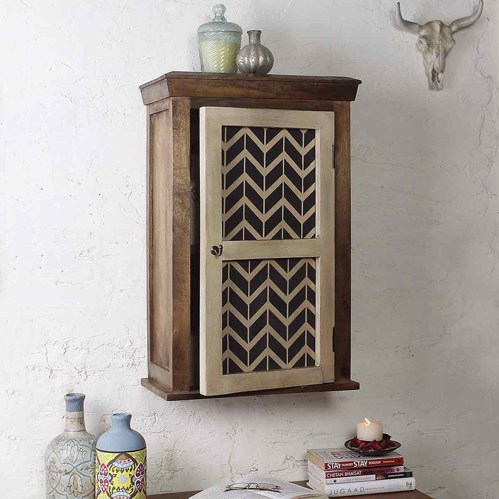 Buy Alba Solid Wood Vintage White