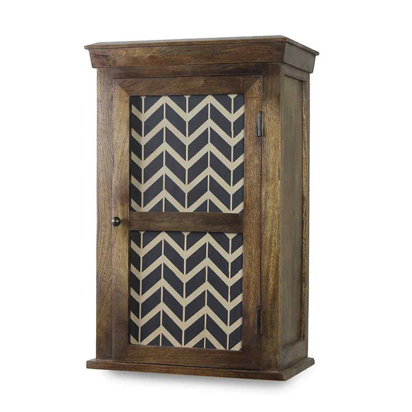 Alba Solid Wood Hand Painted Wall Shelve 4