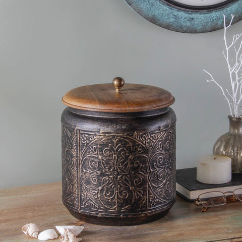 Paulsen Vintage Metallic Copper Storage Box