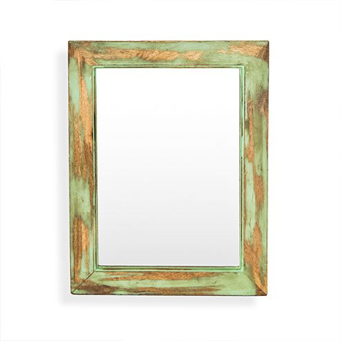 Cambrian Distress Green mirror 2
