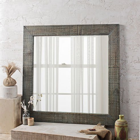 Coastal HandCrafted Bathroom Mirror