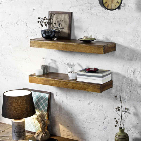 Ashton Brown Wall Shelf