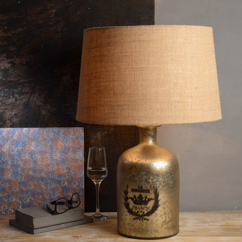French Vintage Galvin Table Lamp Online