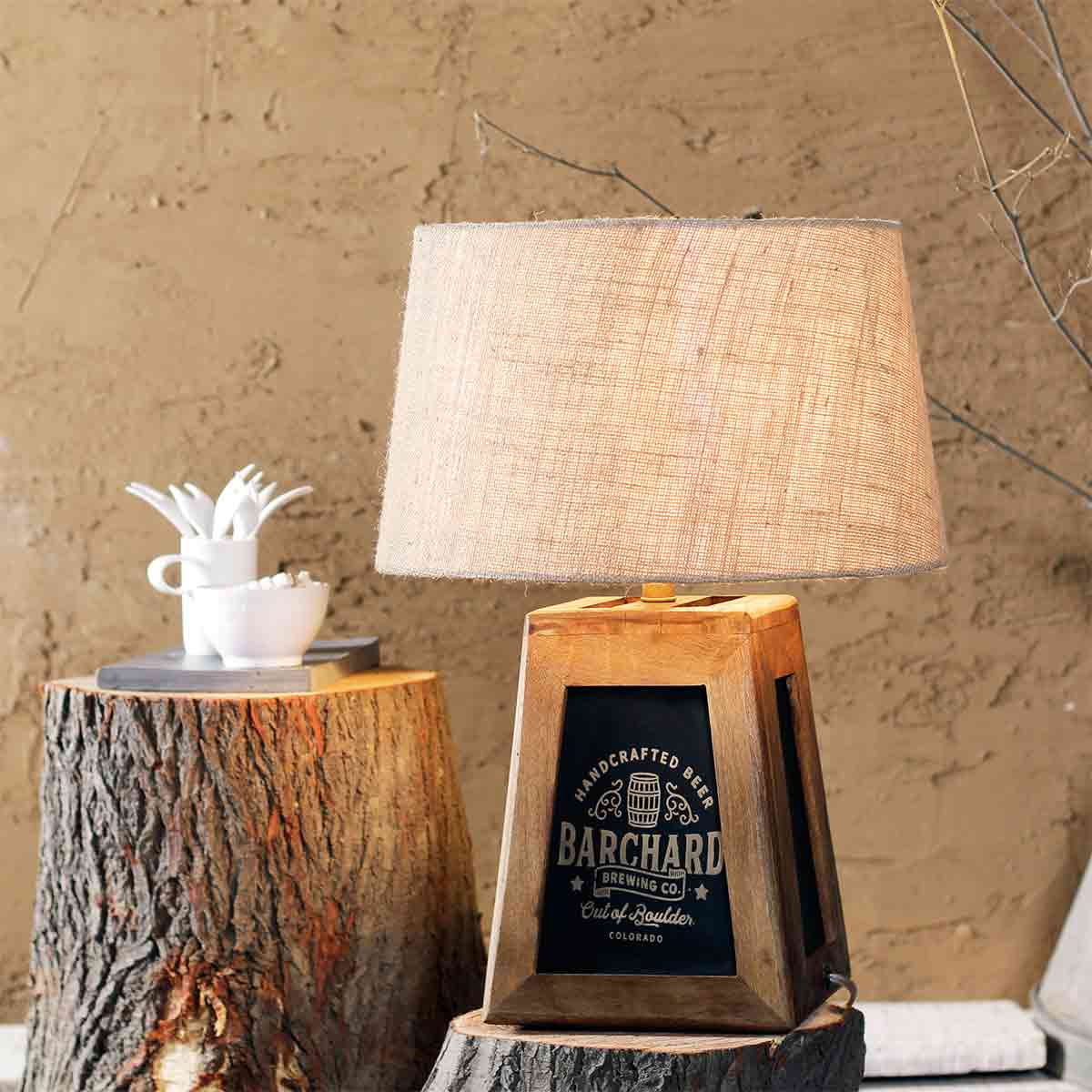 Buy Edward Barrel Table Lamp