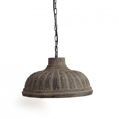 FABULIV Teracotta Copper Antique Pendant Lamp 2