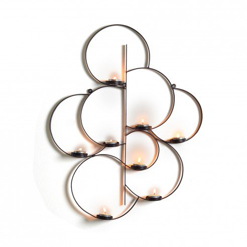 Alma Tealight Wall Hanging Candle Stand
