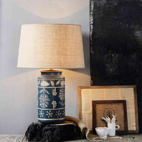 Buy Casey Blue Table Lamp online