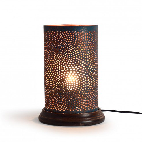 Andre Table Lamp with Dark Wooden Base 2
