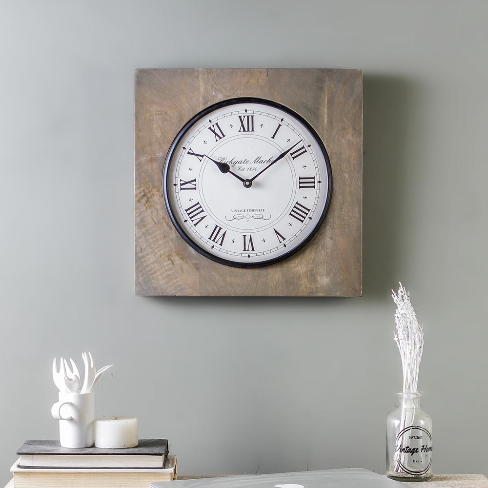 Winwood 13 Square Wall Clock