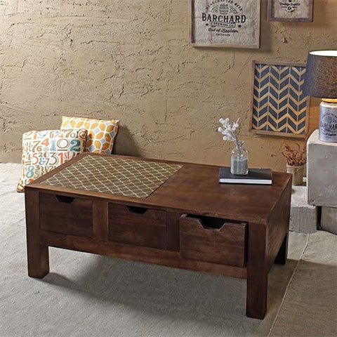 Buy Susan Maple Rectangular Coffee Table online