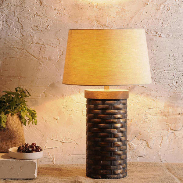 Adelmo Vintage Glass Table Lamp