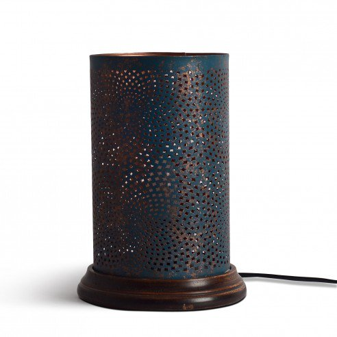 Andre Table Lamp with Dark Wooden Base 1