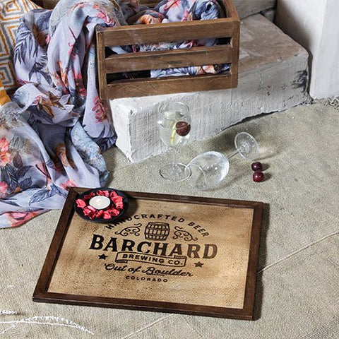 Savannah Barrel Tray