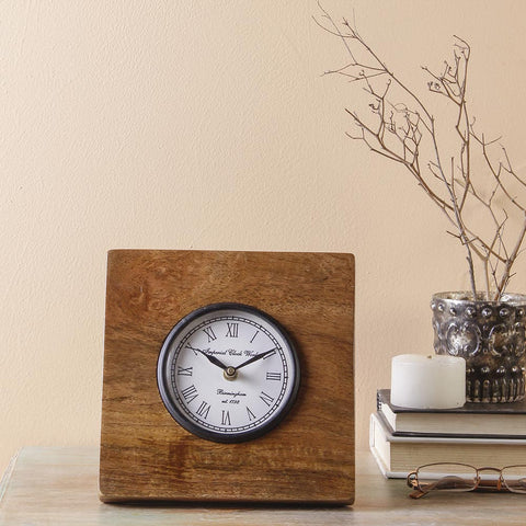 Winwood Vintage 7 Square Table Clock