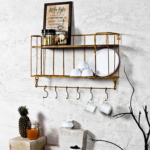 casa persian wall shelf