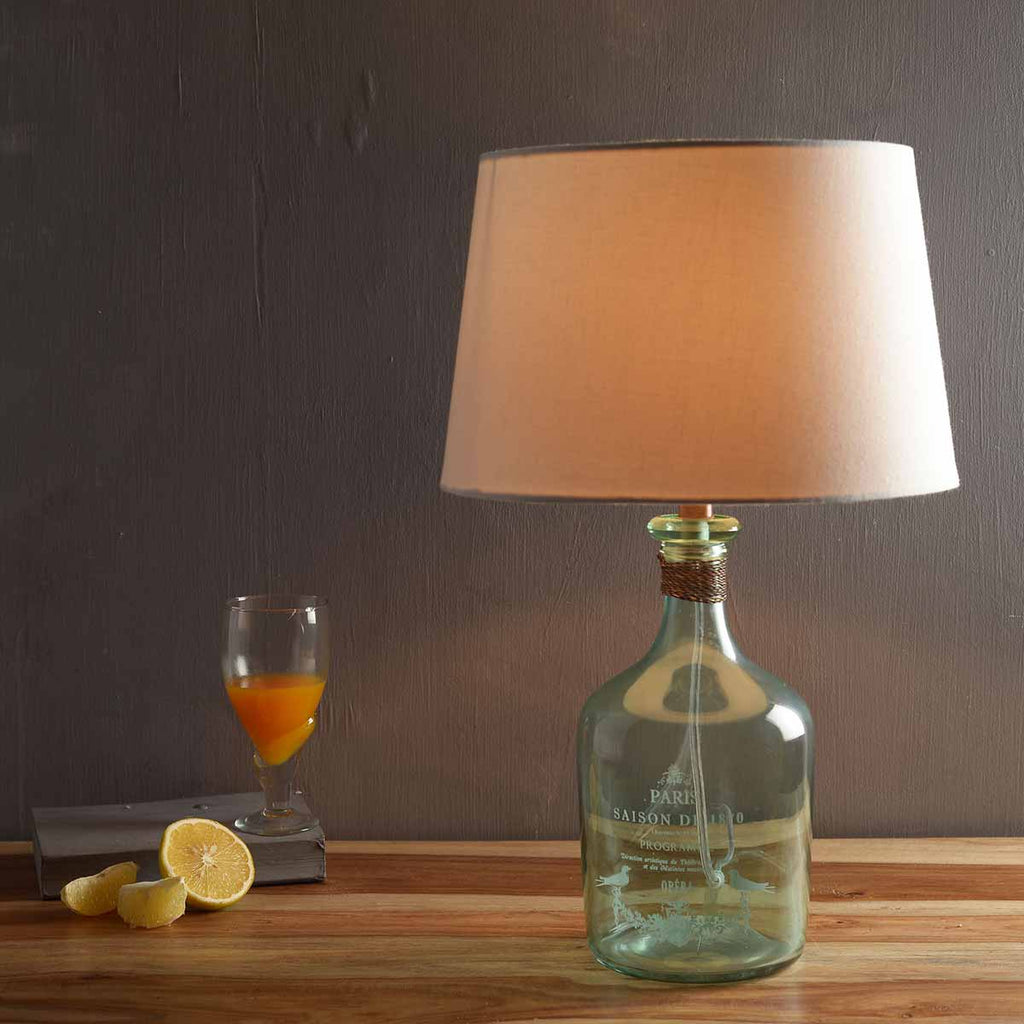 Buy Alvin Aqua Table Lamp Online India