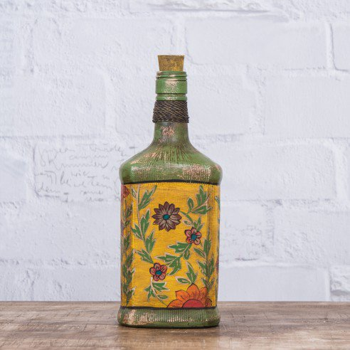 Buy Byron Hand Painted decorative bottle online
