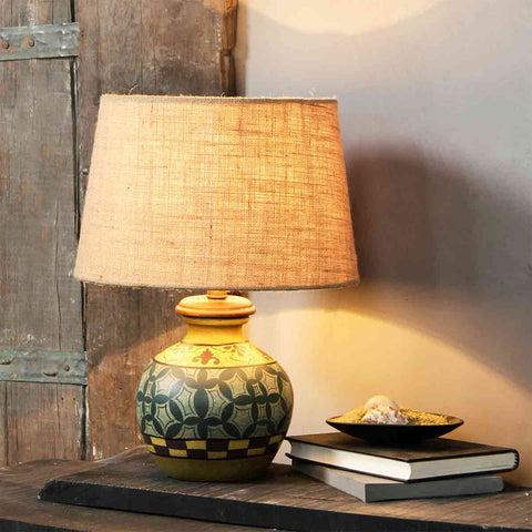 Orson Teal Table Lamp