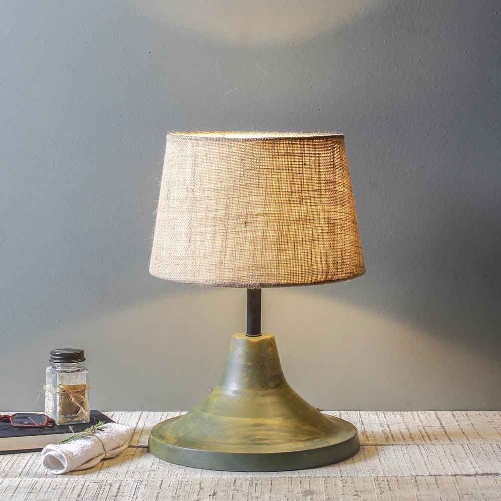 Buy Mabel Vintage Green Table Lamp Online