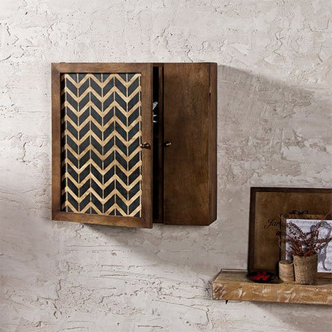Elba Vintage Solid Wood Wall Mounted Cabinet