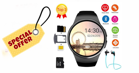 Bestseller Smartwatch Bluetooth & Camera Full Android + IOS Support