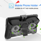 Mobile Phone Gaming Cooling Pad With Rechargeable Power Bank