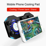 Mobile Phone Gaming Cooling Pad Rechargeable Power Bank