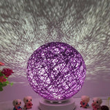 LED Moon Light Magical Projection USB Charging Night Light Lamp