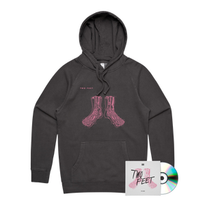Pink Album Pullover Hoodie & CD Bundle