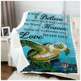 BLANKET - Turtle - When You Believe - yenyenstore