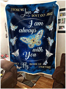 Blanket - Butterfly - I am always with you (V2)