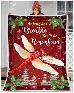 Blanket Dragonfly You'll Be Remembered - Zalooo.com Custom Wall Art Canvas