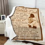 Blanket - To my beloved dad - I may not say
