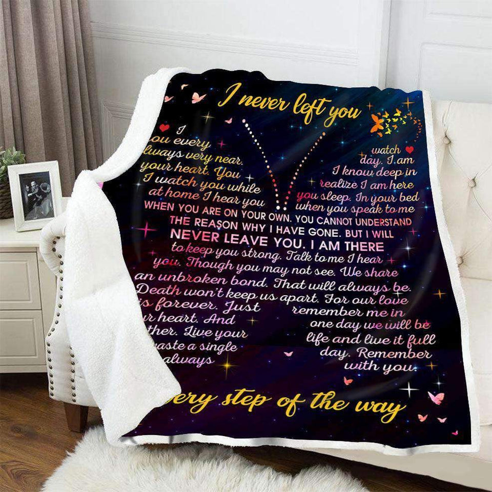 BLANKET - Butterfly - I Never Left You - yenyenstore