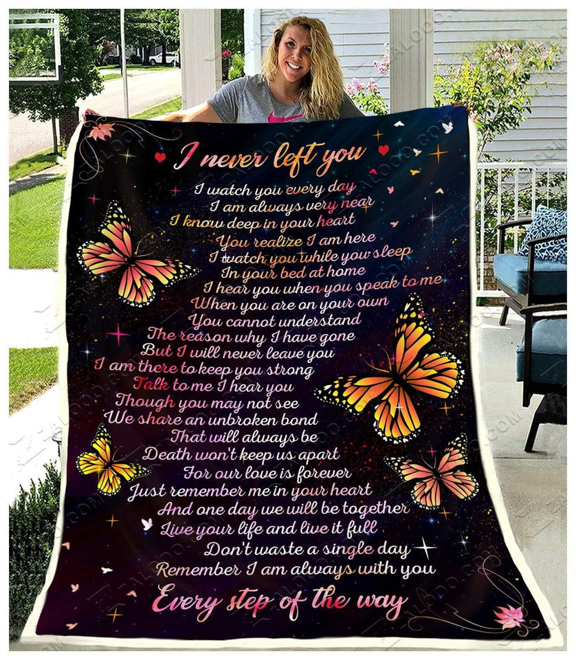 Blanket Butterfly I Never Left You2 - Zalooo.com Custom Wall Art Canvas