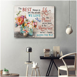 Zalooo The Best Things Dragonfly Wall Art Canvas - Zalooo.com Custom Wall Art Canvas
