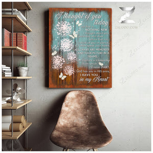 Zalooo I thought of you Butterfly Canvas Wall Art Decor