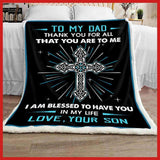 BLANKET - Family - To My Dad - Thank You For All - yenyenstore