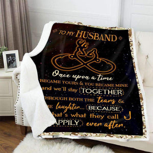 BLANKET - Hunting & Fishing - To My Husband - yenyenstore
