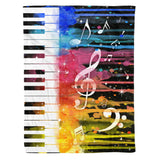 Fleece Blanket - Music (Color) - yenyenstore