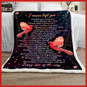 BLANKET - Cardinal - I Never Left You - yenyenstore