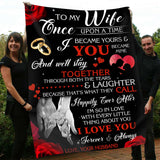 Blanket - To my Wife - Happily Ever After - yenyenstore