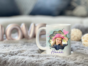 Zalooo White Mug 11 Oz God says you are Personalized Name And Photo