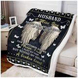 BLANKET -  Butterfly - Husband - I Miss You - yenyenstore