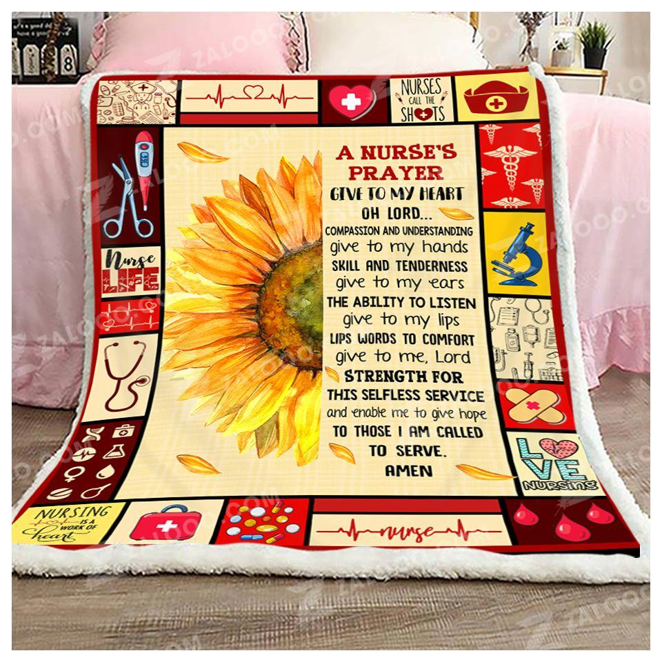 Blanket Nurse A Nurse's Prayer