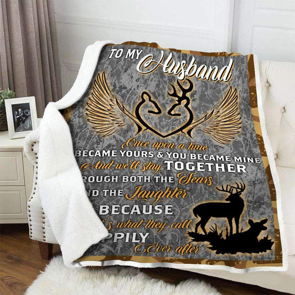 Blanket - Hunting - Husband - Once upon a time - yenyenstore