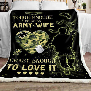 Blanket - Army Wife - Love it - yenyenstore